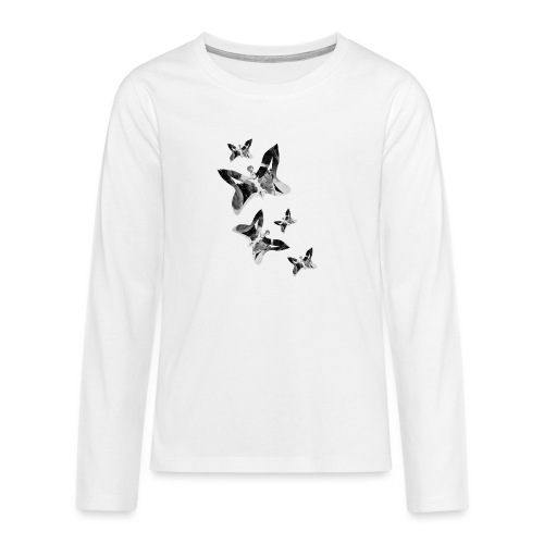 Schmetterlinge - Teenager Premium Langarmshirt