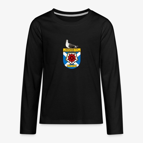 Montrose FC Supporters Club Seagull - Teenagers' Premium Longsleeve Shirt