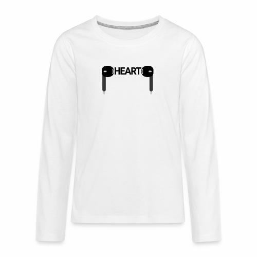 ListenToYourHeart - Koszulka Premium z długim rękawem dla nastolatków