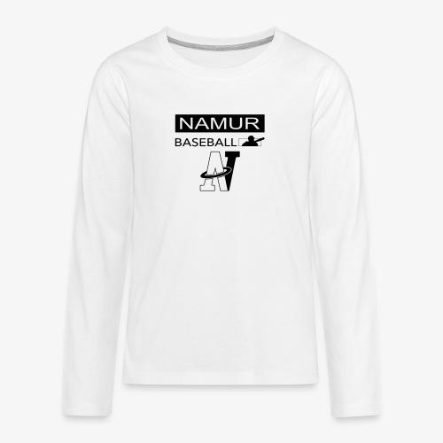 LOGO_002 - T-shirt manches longues Premium Ado
