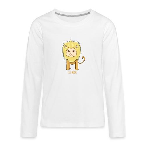 Le roi - T-shirt manches longues Premium Ado