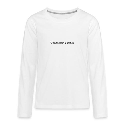 vsewerin03 exclusive tee - Teenager premium T-shirt med lange ærmer