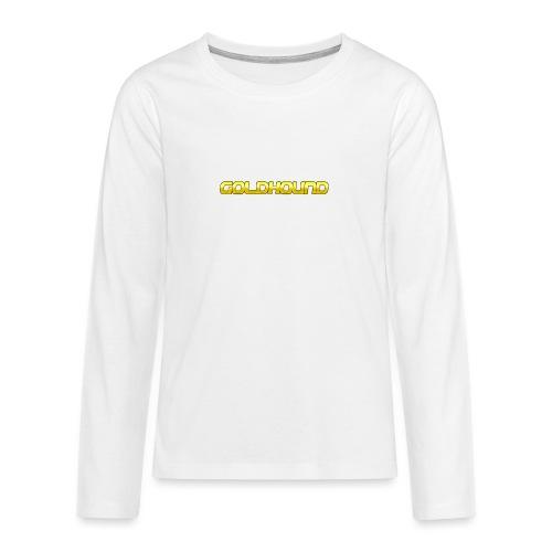 Goldhound - Teenagers' Premium Longsleeve Shirt