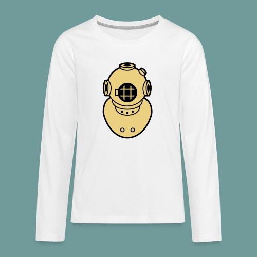 scaph_02 - T-shirt manches longues Premium Ado