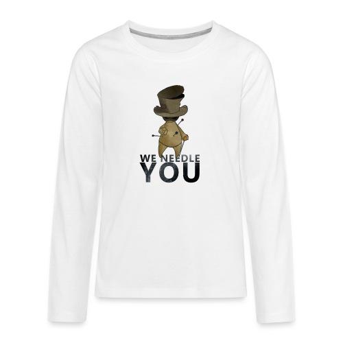 WE NEEDLE YOU - T-shirt manches longues Premium Ado