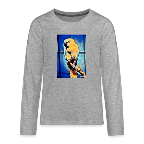 Bird in color - Teinien premium pitkähihainen t-paita