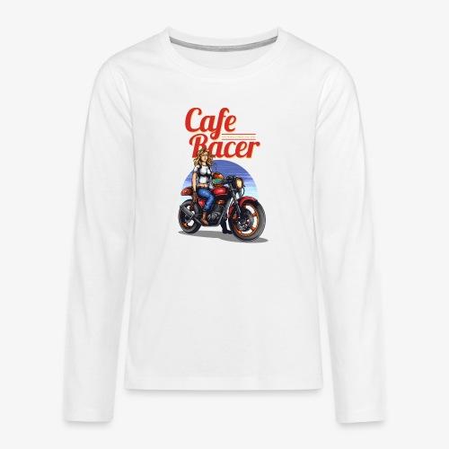 Cafe Racer - T-shirt manches longues Premium Ado