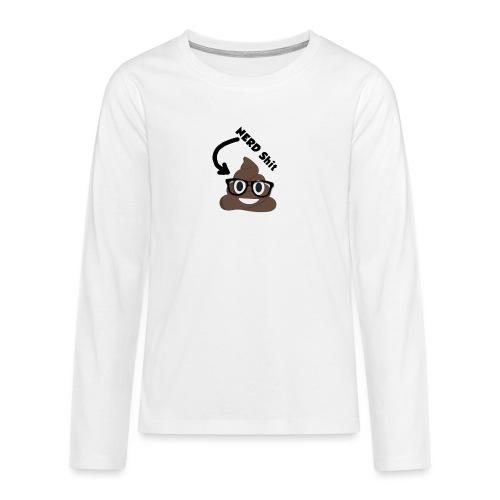 NERD Shit - Teenager Premium Langarmshirt