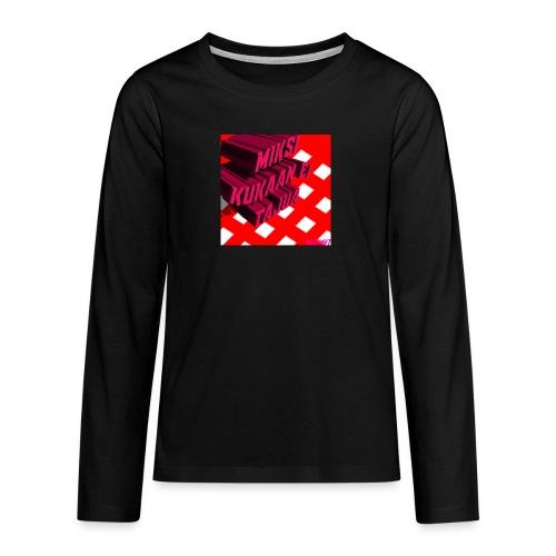 KukaaEiTajuu - Teinien premium pitkähihainen t-paita