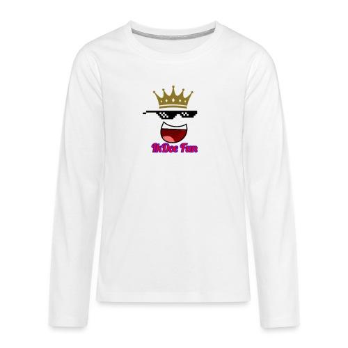 IkDoe Fun - Teenager Premium shirt met lange mouwen
