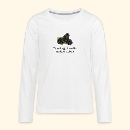 Picking blackberries - Teenagers' Premium Longsleeve Shirt