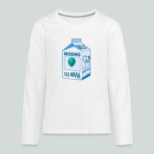 Missing : balloon - T-shirt manches longues Premium Ado