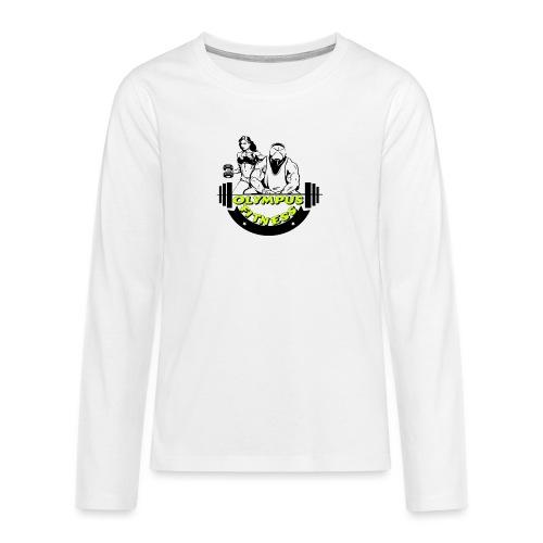 iPiccy Design - Maglietta Premium a manica lunga per teenager