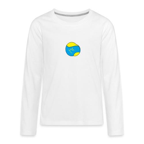 mr hav3rgyn logo - Teenager premium T-shirt med lange ærmer