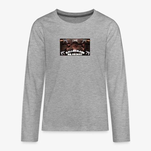 Album - Teenager Premium Langarmshirt