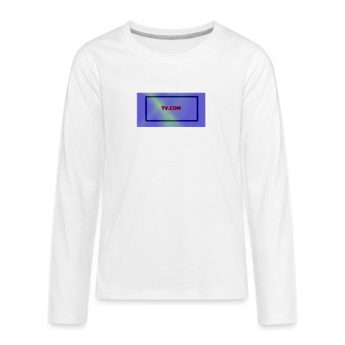 TV.COM - Teinien premium pitkähihainen t-paita