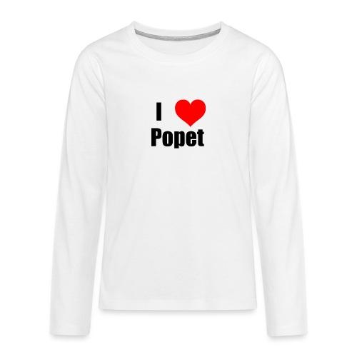 ILovePopet - Teenagers' Premium Longsleeve Shirt