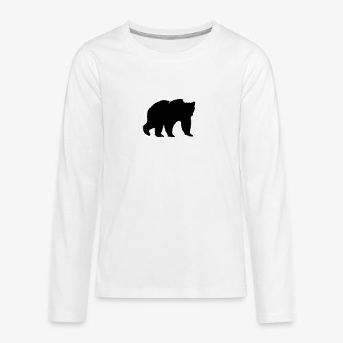 alouci - Långärmad premium T-shirt tonåring