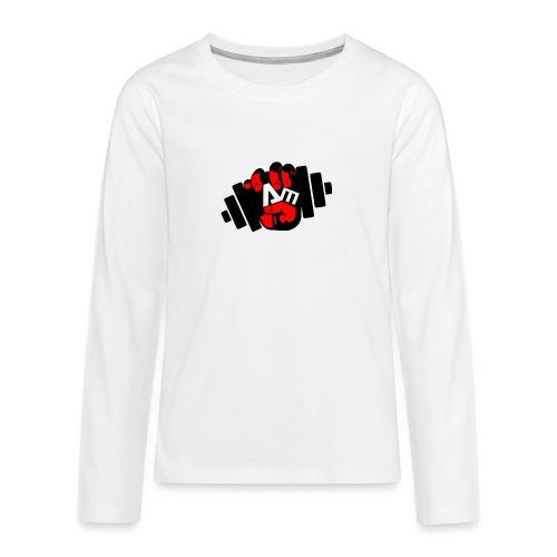 ANTONIO MESSINA ANTOFIT93 - Maglietta Premium a manica lunga per teenager