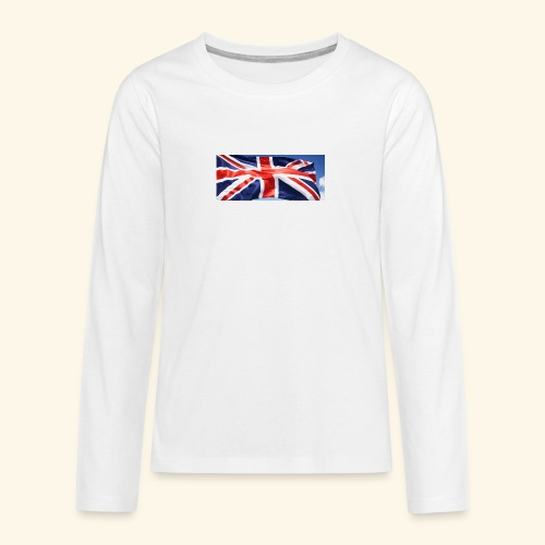 UK flag - Teenagers' Premium Longsleeve Shirt