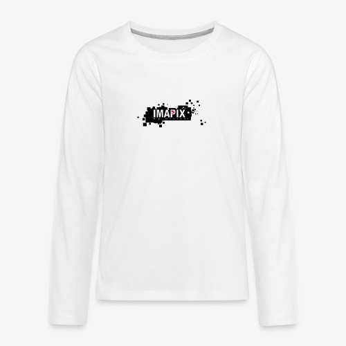 IMAPIX ANIMATION Rectro02 - T-shirt manches longues Premium Ado