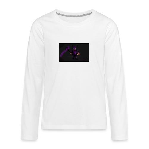 Herobrine 2 v - Teenager Premium Langarmshirt