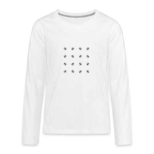 Bees - Teenagers' Premium Longsleeve Shirt