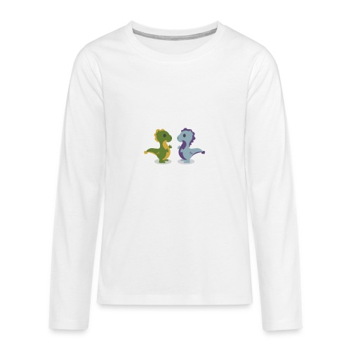 Tee shirt enfant dragon - T-shirt manches longues Premium Ado