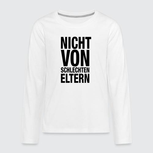 eltern - Teenager Premium Langarmshirt
