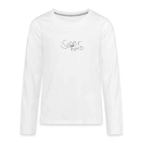 2 - Teenager Premium Langarmshirt