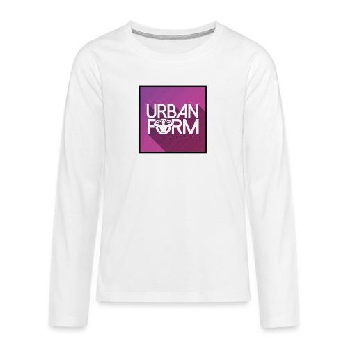 Logo URBAN FORM - T-shirt manches longues Premium Ado