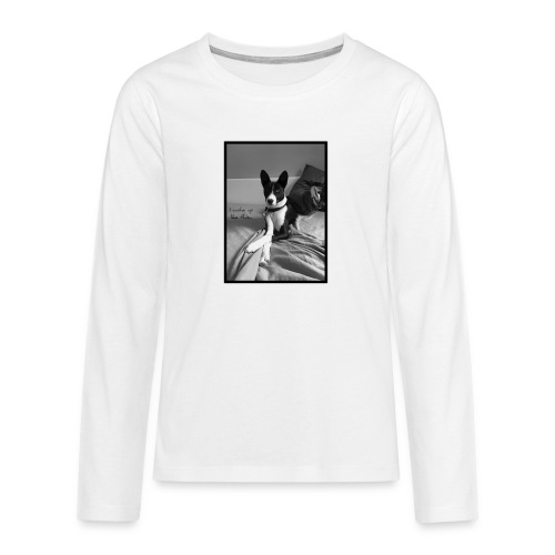 Piratethebasenji - T-shirt manches longues Premium Ado