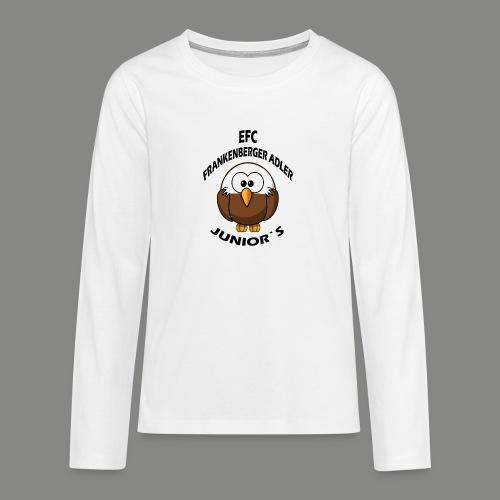 Junior Set in Schwarz - Teenager Premium Langarmshirt