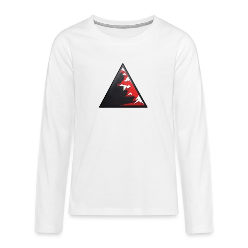 Climb high as a mountains to achieve high - Teenagers' Premium Longsleeve Shirt
