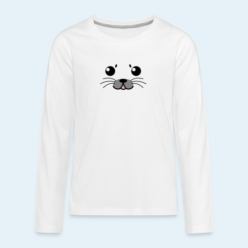 Foca bebé (Cachorros) - Camiseta de manga larga premium adolescente