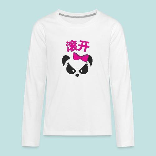 Sweary Panda - Teenagers' Premium Longsleeve Shirt