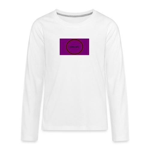 king life - Teinien premium pitkähihainen t-paita