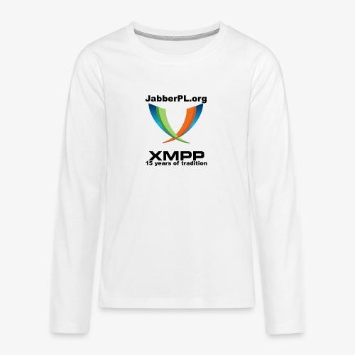 JabberPL.org XMPP - Teenagers' Premium Longsleeve Shirt