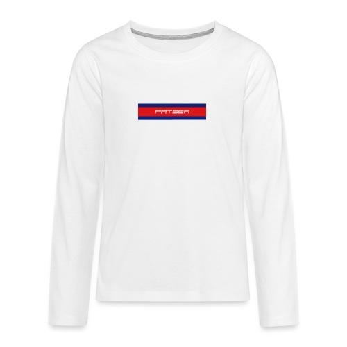 PATSER - Teenager Premium shirt met lange mouwen