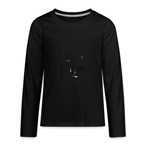har sei png - Premium langermet T-skjorte for tenåringer