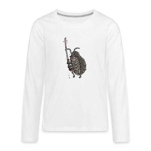 killerassel-white - Teenager Premium Langarmshirt
