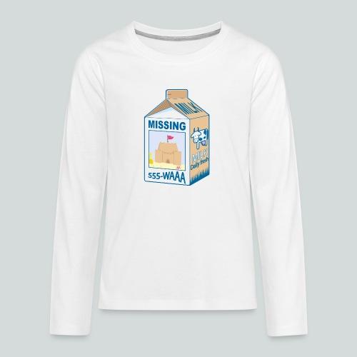 Missing : Sand castle - T-shirt manches longues Premium Ado