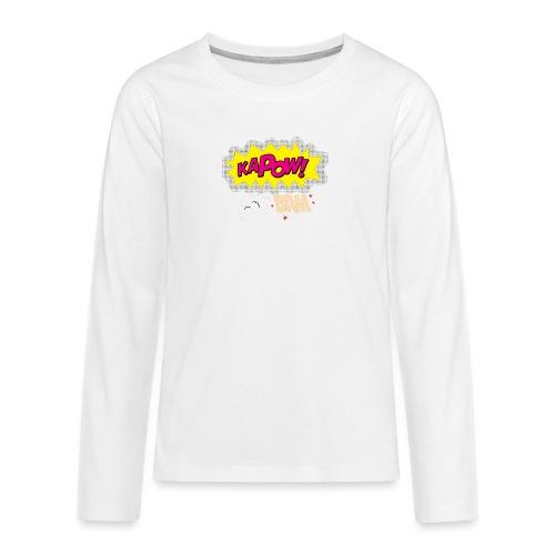 kaboum bam - T-shirt manches longues Premium Ado