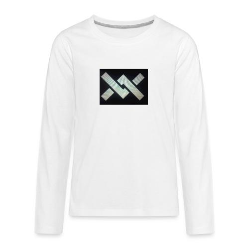 Original Movement Mens black t-shirt - Teenagers' Premium Longsleeve Shirt