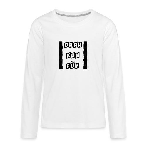 Vorschau: Drah kan Füm - Teenager Premium Langarmshirt
