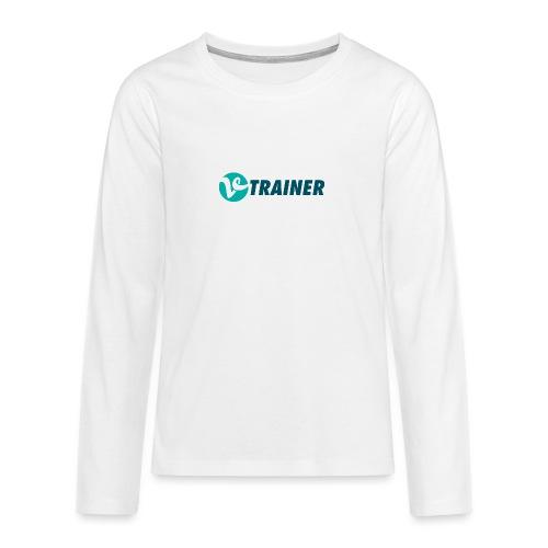 VTRAINER - Camiseta de manga larga premium adolescente