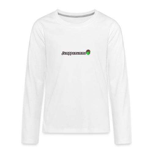Jamppamummo! - Teinien premium pitkähihainen t-paita
