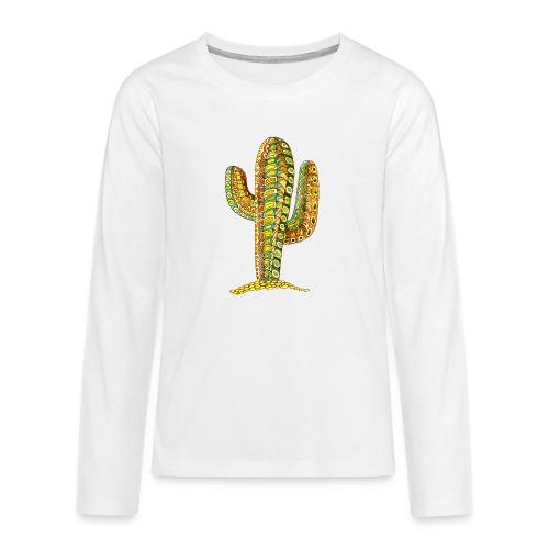 Le cactus - T-shirt manches longues Premium Ado