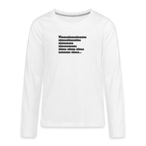 BOKTIPSET - Långärmad premium T-shirt tonåring
