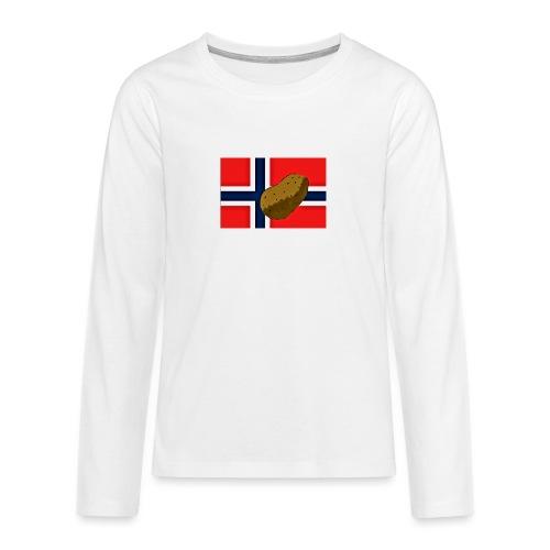 NorPot - Premium langermet T-skjorte for tenåringer